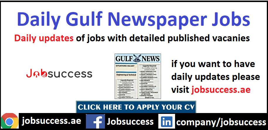 Gulf News Jobs in Dubai & Across UAE Latest Updates