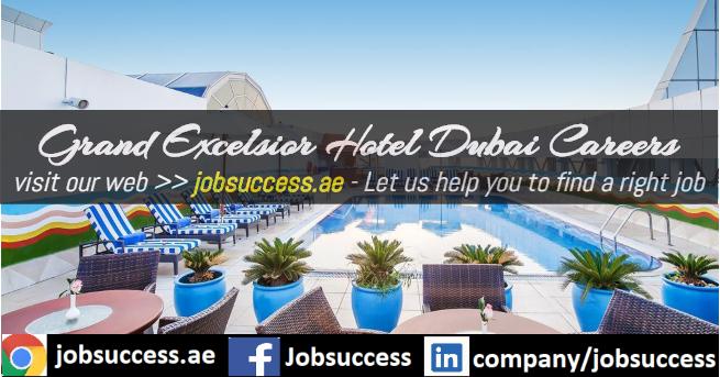 Grand Excelsior Hotel Dubai Careers