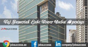 Jumeirah Lake Towers Careers