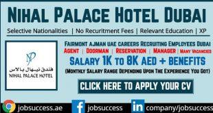 Nihal Palace Hotel Dubai Careers