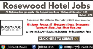 Rosewood Hotel Abu Dhabi Careers