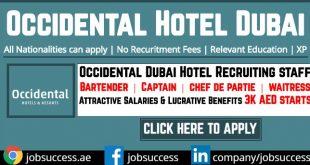 Occidental Hotel Dubai Careers