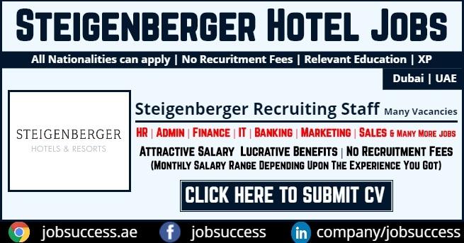 Steigenberger Hotel Business Bay Dubai Careers