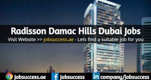 Radisson Damac Hills Dubai Careers