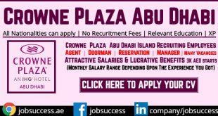 Crowne Plaza Abu Dhabi Yas Island Careers