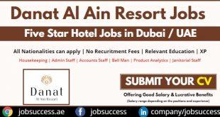 Danat Hotel Al Ain Careers