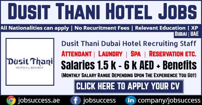 Dusit Thani Dubai Careers