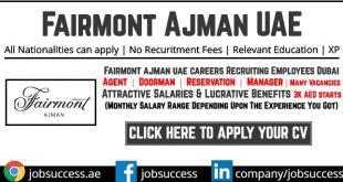 Fairmont Ajman Careers