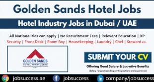 Golden Sands Hotel Apartments Careers