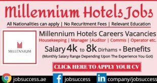 Millennium Hotels Jobs