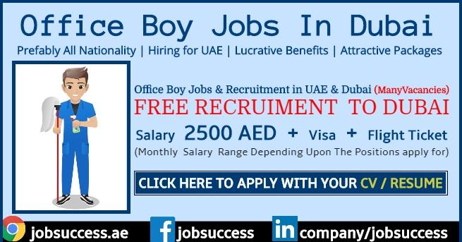 Office Boy Jobs in Dubai
