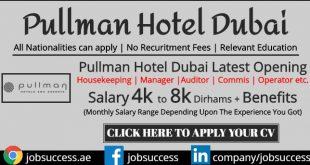 Pullman Hotel Dubai Careers