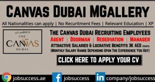 The Canvas Dubai MGallery Careers