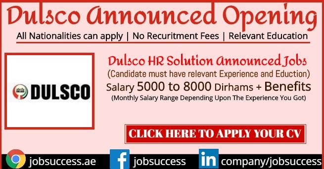dulsco recruitment