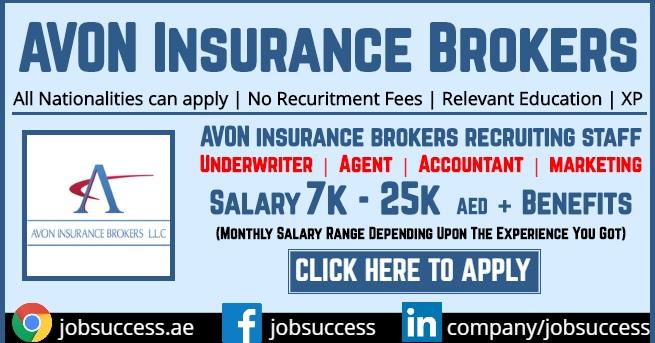 Avon Insurance Brokers Jobs