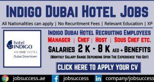 Indigo Dubai Jobs