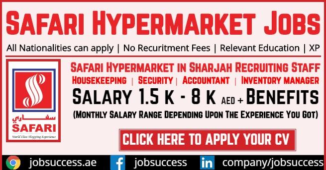 Safari Hypermarket jobs