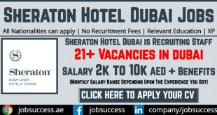 Sheraton Grand Hotel Dubai Careers