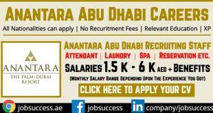 Anantara Abu Dhabi Careers