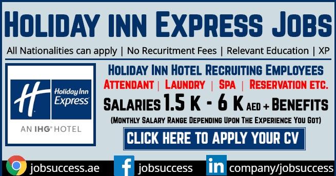 Holiday Inn Express Dubai Careers