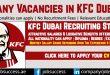 KFC Dubai Careers