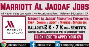 Marriott Al Jaddaf Jobs
