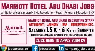 Marriott Careers Abu Dhabi