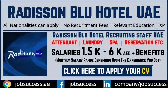 Radisson Blu Abu Dhabi Jobs
