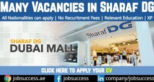 Sharaf DG Careers