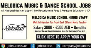 Melodica Dubai Careers