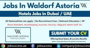 Waldorf Astoria DIFC Careers