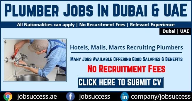 Plumber Jobs in Dubai