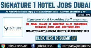 Signature 1 Hotel Tecom Careers