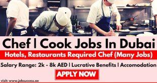 Chef Career in Dubai