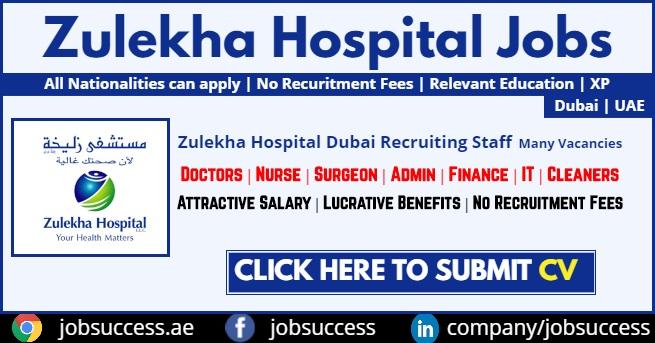 zulekha hospital careers