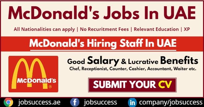 McDonalds UAE Careers