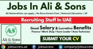 ali & sons careers
