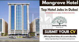 Mangrove Hotel Ras Al Khaimah Careers