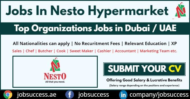 Nesto Hypermarket Jobs