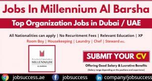 Millennium Al Barsha Dubai Careers