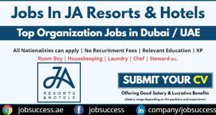 JA Resorts & Hotels Careers
