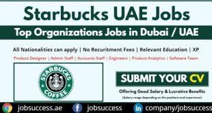 Starbucks UAE Careers