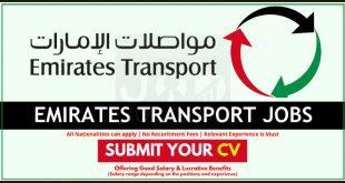 Emirates Transport Careers and Job