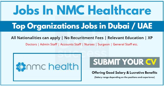 NMC healthcare jobs and careers