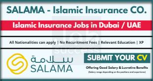 SALAMA- Islamic Arab Insurance Company Careers